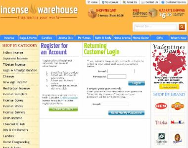 Incensewarehouse.com Tumbnail 1