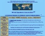 World Speakers Association
