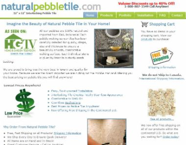 Natural Pebble Tile