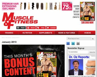 The Muscle & Fitness Store